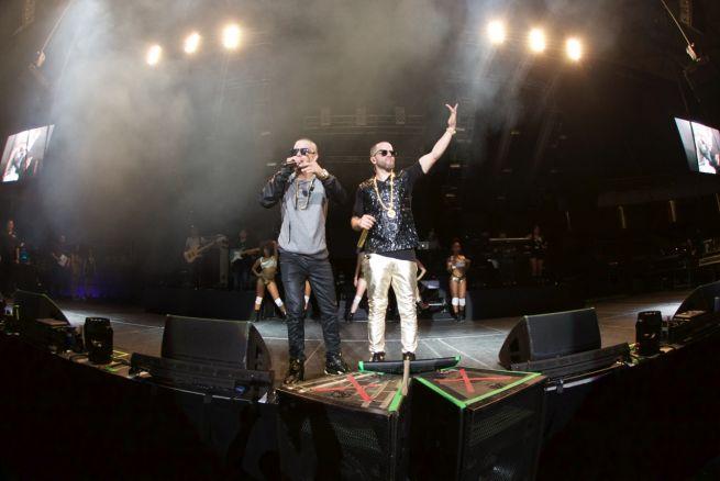 Yandel, con éxito rotundo en Chile